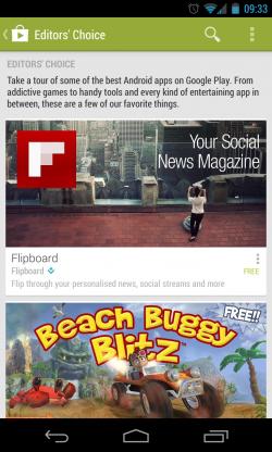 Google Play - Editor's Choice Apps