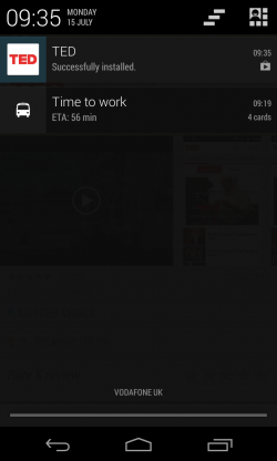 Google Play - Notifications