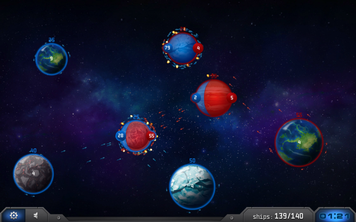 StarCloud – play tactical stellar arcade game of conquer or be conquered!