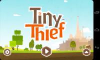 Tiny Thief - Menu
