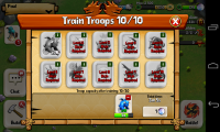 Battle Dragons - Train troops