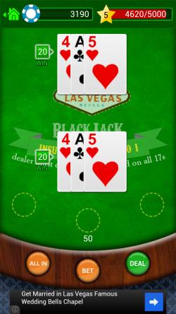 BlackJack - Insured Win