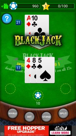 BlackJack - Lose