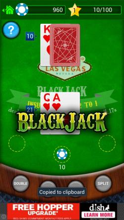 BlackJack - Win