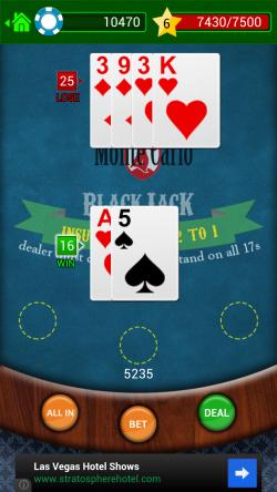 BlackJack - Win All In Hand