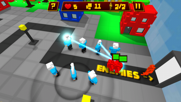 Block Defender: Tower Defense. Minecraft inspired tower defense game!