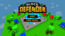 Block Defender Tower Defense - Menu