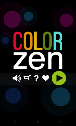 Color Zen - Menu