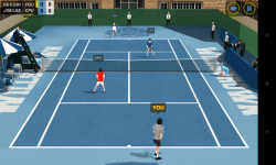 Flick Tennis - Doubles game (1)