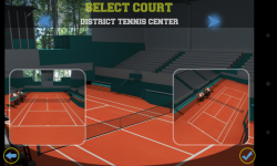 Flick Tennis - Select court
