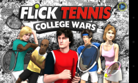 Flick Tennis - Splash page