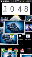 Gallery 3D Live Wallpaper - Collage on Homescreen