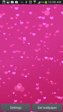 Heart Live Wallpaper 2