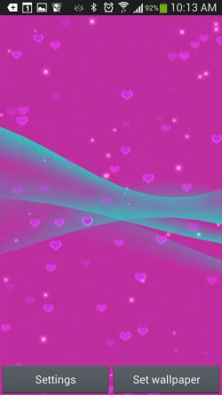 Heart Live Wallpaper 3