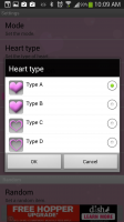 Heart Live Wallpaper - Heart Types