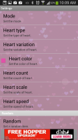 Heart Live Wallpaper - Settings 1