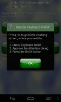 Keyboard-Relief 2 - Enable