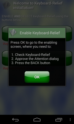 Keyboard-Relief 2 - Enable