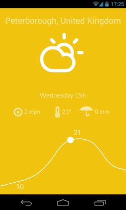 Nice Weather - Color changes with slider movement and predicted weather (1)