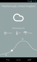 Nice Weather - Color changes with slider movement and predicted weather (2)