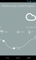 Nice Weather - Color changes with slider movement and predicted weather (3)