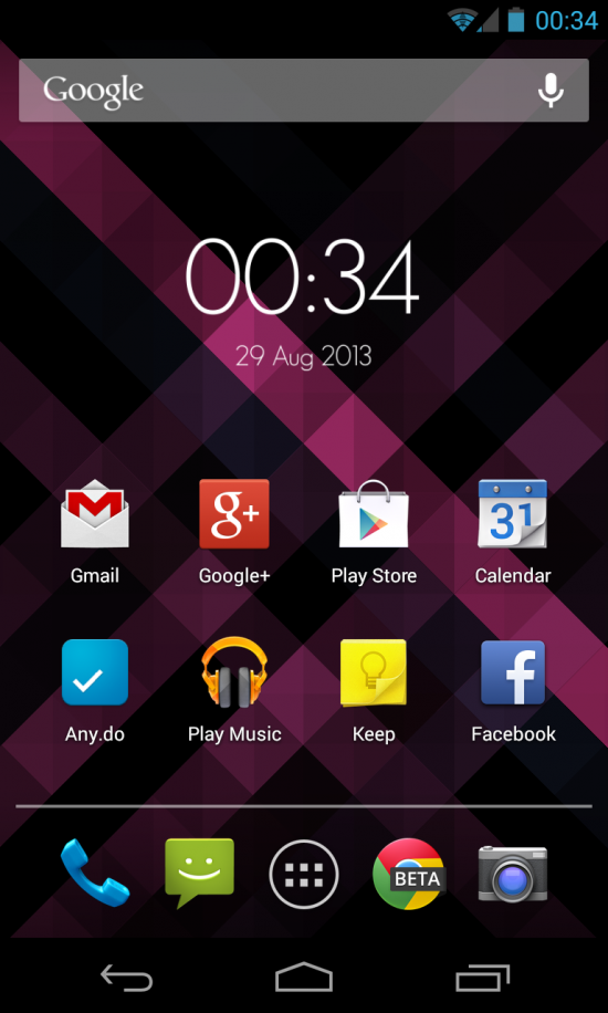 Origami Live Wallpaper – a gorgeous geometric LWP to personalize your Android!