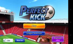 Perfect Kick - Menu