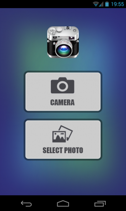 Photo Effects - Camera or gallery