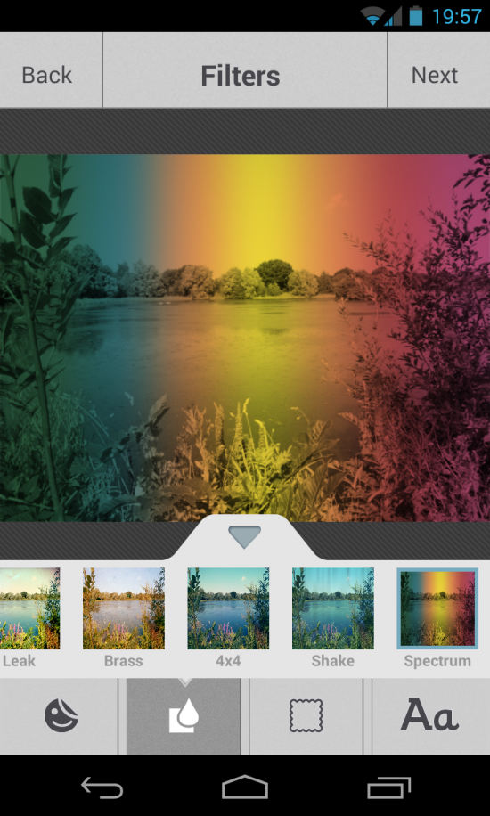 Photo Effects by RadiumOne – a cool photography & editing app