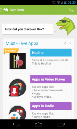 Rex - Must have apps etc