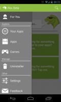 Rex - Slide out menu