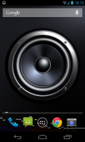 Screen Speaker Music Wallpaper - Crisp and detailed