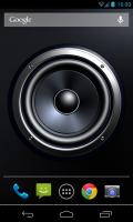 Screen Speaker Music Wallpaper - Live wallpaper in situ (1)