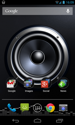 Screen Speaker Music Wallpaper - Live wallpaper in situ (2)