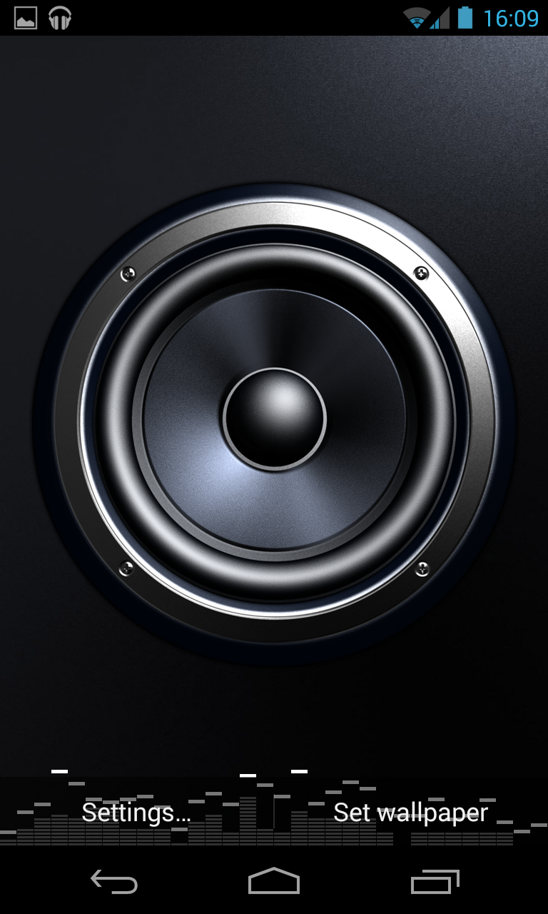 screen speaker music wallpaper preview 3 androidtapp