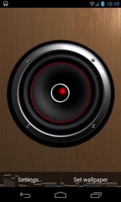 Screen Speaker Music Wallpaper - Pulses to music (2)