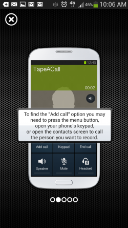 TapeACall - Tutorial 4