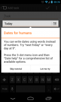 Todoist - Dates for humans