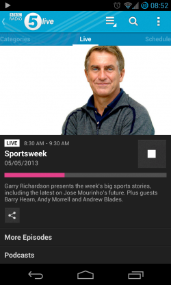 iPlayer Radio - Live program
