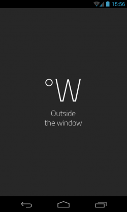 oW Weather - Loading page