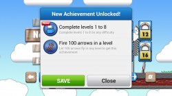 Arrow Mania - Achievements Unlocked