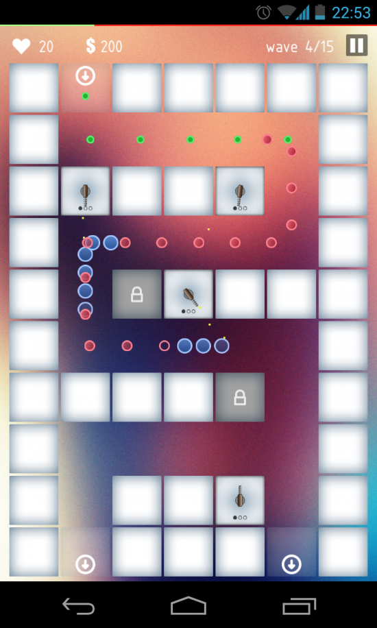 Blurry Defense – play this highly challenging tower defense game!