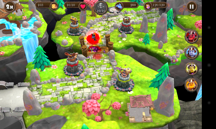 Brave Guardians – play a visually stunning 3D tower defense game