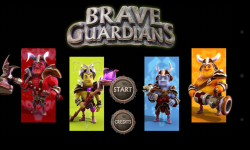 Brave Guardians - Menu