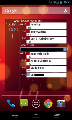 Calendar++ - Scrollable