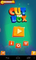 Cut the Box - Menu