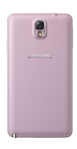 Galaxy Note3 back Blush Pink