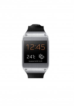 Galaxy Gear Front Jet Black