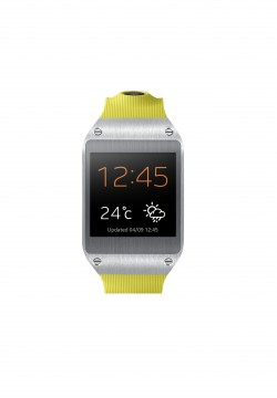 Galaxy Gear Front Lime Green