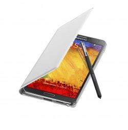 Galaxy Note 3 Flip Cover Open Pen Classic White